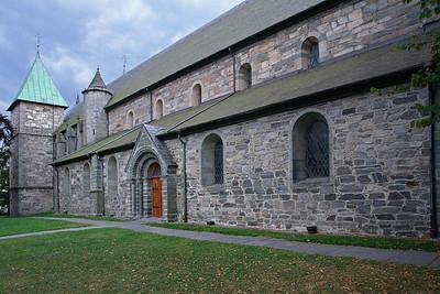 Die Domkirche in Stavanger.