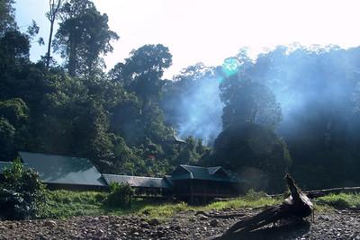Der Eingang zum Nationalpark Ulu Temburong.