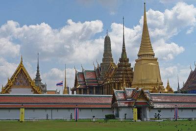 Wir sind von Brunei ja viel Gold an den Palästen gewohnt. Dieser Königspalast in Bangkok war aber noch eine Nummer prächtiger!