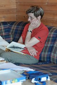 Tagsüber waren wir viel an der frischen Luft, aber es wir hatten auch viel Zeit zum Entspannen und Lesen.