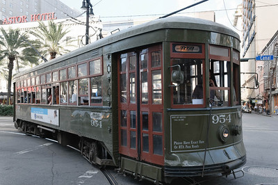 These old trams contribute to the atmosphere in the City.