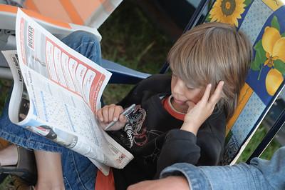 Lukan nahm sich eine Auszeit und löste das Sudoku in der Bildzeitung.