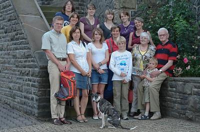 Das obligatorische Familienbild in Siegen.