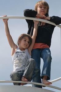 Daria und Lukan auf dem Gipfel des Vulhans.