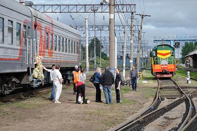 Ein Zwischenstopp auf dem Weg nach Ekaterinenburg.