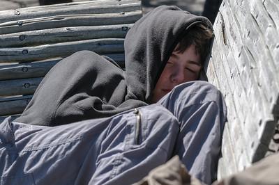 Paul war auch müde.