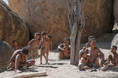 Das Living Museum der Buschmänner erschien uns authentischer als das der Damara.