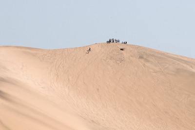 Auf dieser Düne kann man Sandboarden. Dafür hatten wir leider keine Zeit.