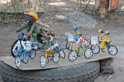 So ein Fahrrad hätte Bernd gerne als Souvenir mitgenommen. Ist aber etwas schwer, im Rucksack zu transportieren.