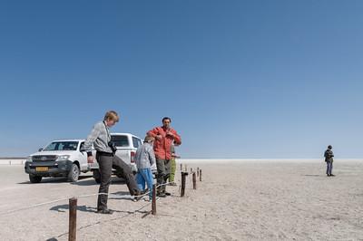 An dieser Stelle konnte man auf den Salzsee hinausfahren.