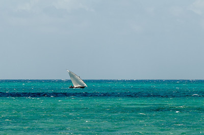 Ein traditionellen Boot für diese Gegend.