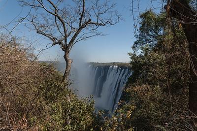 Die Victoria Wasserfälle sind wirklich eine Reise Wert.