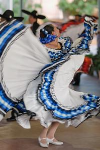 Auf dem Fest der SEG wurden mexikanische Tänze vorgeführt.