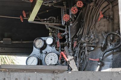 Von San Antonio nahm Bernd den Zug. Leider fahren hier keine Dampflocks mehr.