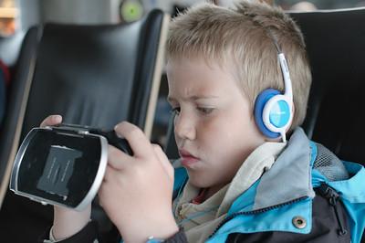 Oslo Flughafen: Der PSP wird getestet. Wie lange hält die Batterie?