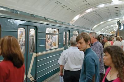 Die Metro ist einfach sehenswert.