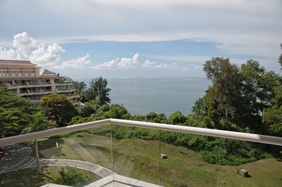 Und alle Zimmer haben Aussicht auf das Meer.