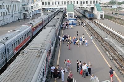 Ein weiterer Zwischenstop auf dem Weg nach Ekaterinenburg.