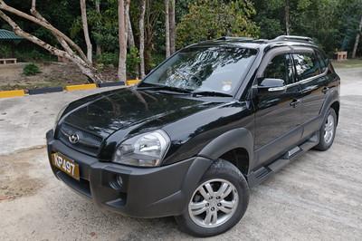 Unse Auto. Ich werde nie wieder über koreanische Autos lästern. Wirklich gute Qualität.