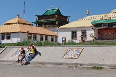 Das Kloster Gadan.