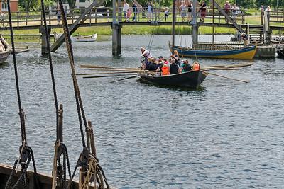 Einige Kinder durften mit den Booten sogar raus aufs Wasser!