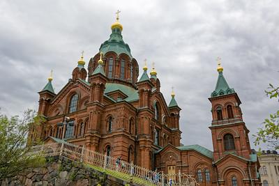 In Helsinki gibt es auch eine orthodoxe Kirche.