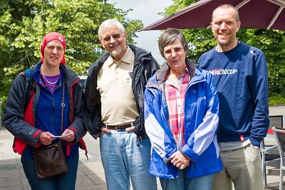 Bernd trifft Hajo und Sabine ja öfter, aber jetzt haben wir es zum ersten Mal mit der Familie geschafft, nach Kiel zu kommen.