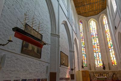 Die Kirche am Alten Markt in Rostock.