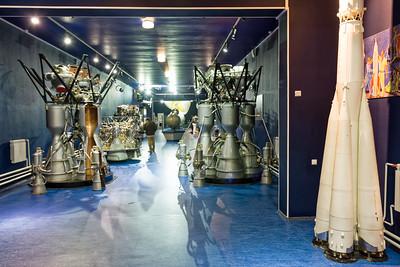In der Peter und Paul Festung findet man auch ein kleines Raumfahrtmuseum.