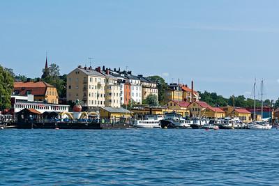 Am besten erkundet man Stockholm mit dem Boot.