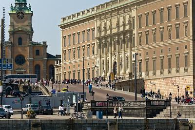 Das Stockholmer Schloss.