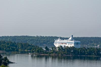 Die Schären vor Stockholm waren der landschaftlich bis jetzt schönste Teil der Reise.