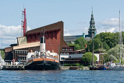 In diesem Museum ist die Vasa ausgestellt.