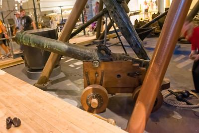 Nur wenige Kanonen sind noch erhalten. Viele wurden kurz nach dem Sinken des Schiffes schon geborgen.