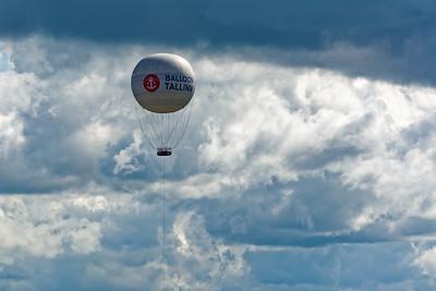 Von diesem Heliumballon soll man eine schöne Aussicht über die Stadt haben.