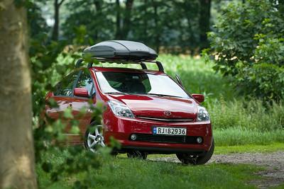 Unser Autochen hat den langen Weg von Norwegen bis nach Deutschland gut geschafft.