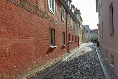 Auf dem Rückweg legen wir noch mal einen Stop in Wismar ein.