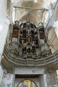 Die Orgel wurde zum grossen Teil demontiert. Ob sie irgendwan mal restauriert wird ist unsicher.