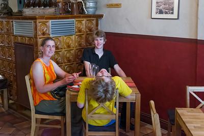 Zum Abschluss haben wir in Wismar noch zu Mittag gegessen.