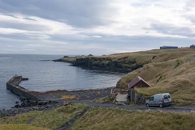 Das kleinste Cafe in Island haben wir schliesslich auch gefunden.