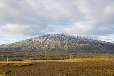Der Snæfellsjökull liegt ganz im Westen der Halbinsel.