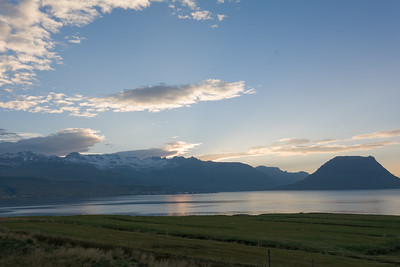 Kurz bevor es dunkel wurde sind wir in unserem Hotel in Stykkishólmur angekommen.