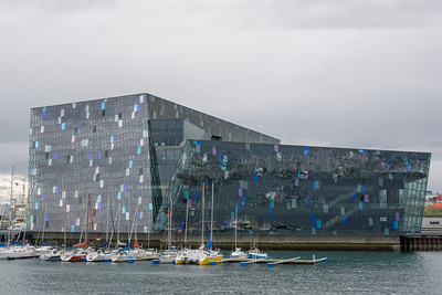 Die Oper vom Meer aus gesehen.