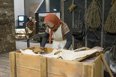In einem anderen Museum haben wir etwas über Wärmekraftwerke und Fischerei erfahren.