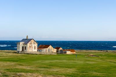 Heute haben wir eine kleine Rundfahrt über die Halbinsel Reykjanes gemacht. Überall gibt es Golfplätze.