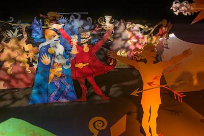 Im Wikingermuseum haben wir etwas über die Mythologie der Wikinger erfahren.