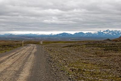 Am Anfang lies sich der Weg noch ganz gut fahren. Aber etwa 60km waren sehr schlecht.