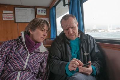 Bernd hat zur Überraschung aller den Weg gut gefunden. Das GPS war dabei sehr nützlich.