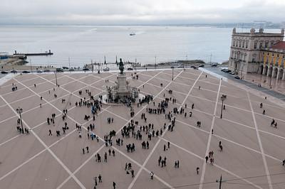 Der Praça do Comércio.