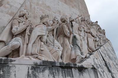 Das Denkmal der Entdeckungen in Belem.